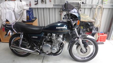 1977 Kawasaki KZ1000 Dave