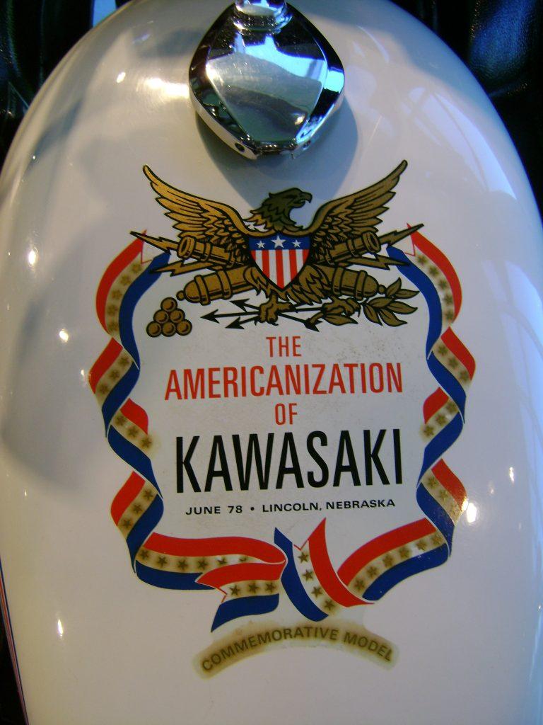 1978 Kawasaki Spirit of America tank