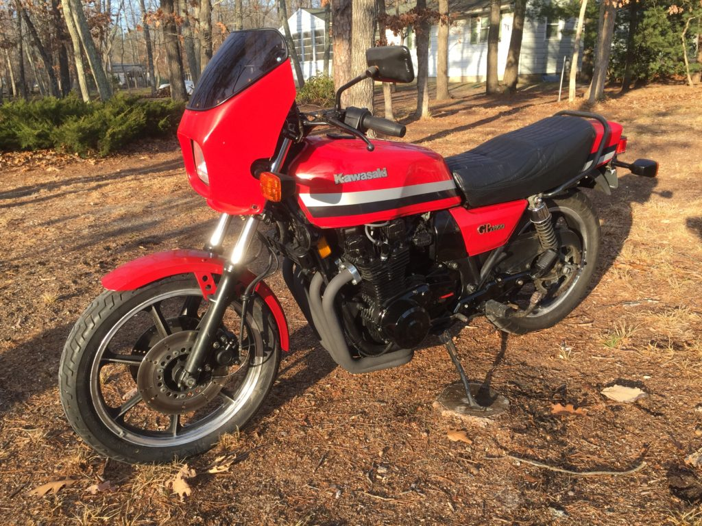 1981 Kawasaki GPZ1100 Alexander G