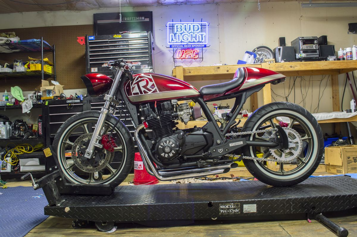 1982 Kawasaki KZ1000 Z1 Enterprises Customer Build