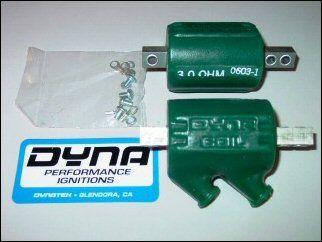 DYDC1 Dyna Dual Output 3.0 Ohm Coils Pair DC1-1