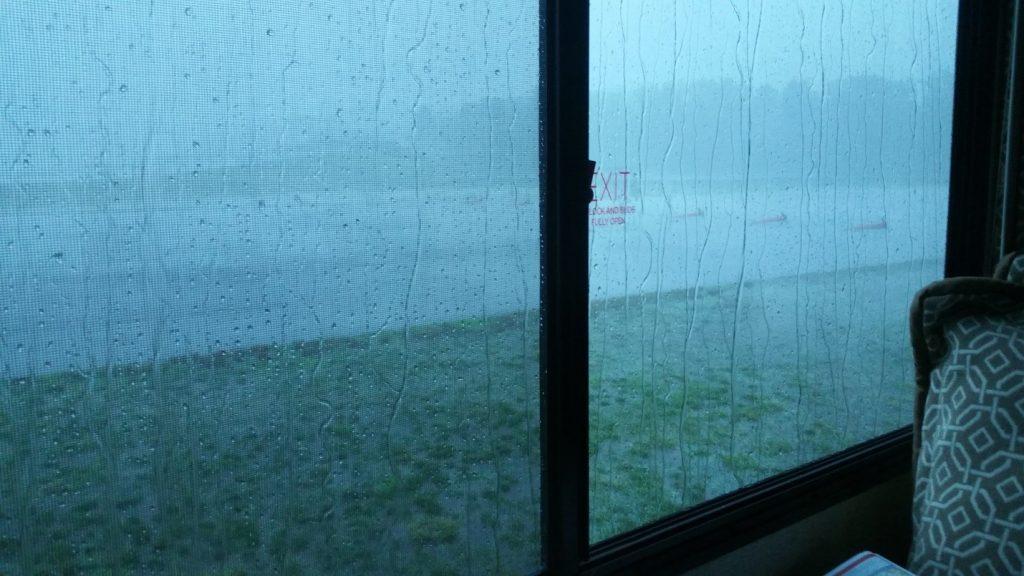Dennis Parrish AHRMA New Jersey rain