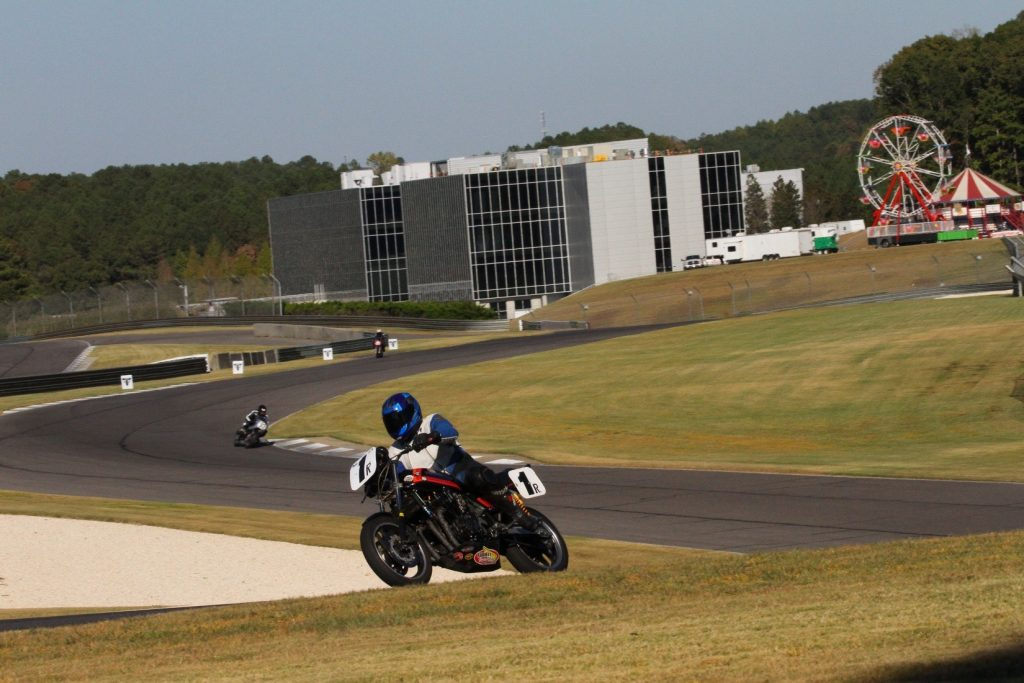 Honda CB-F AHRMA Barber Motorsports Park Dennis Parrish