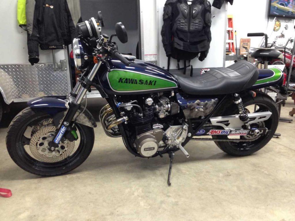 Kawasaki KZ1000 1977 custom Z1 Enterprises customer build bike gallery