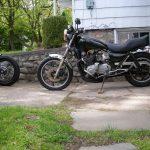 Kawasaki KZ1000 1981 black Flatiron Mike
