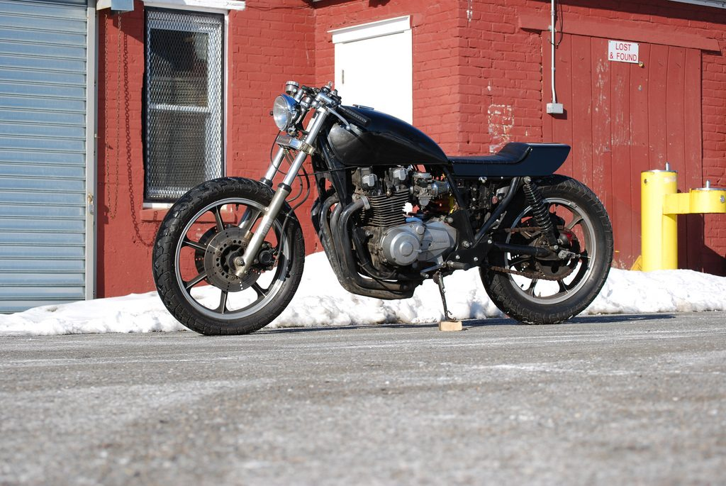 Kawasaki KZ1000 1981 black Flatiron Mike 2