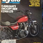 Kawasaki KZ900 LTD 1976 red