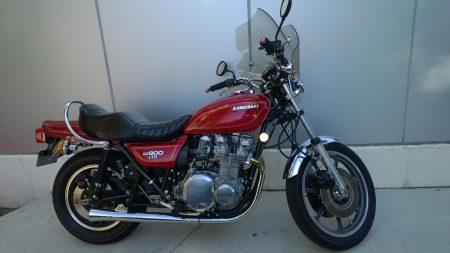 Kawasaki KZ900 LTD restoration Robin M