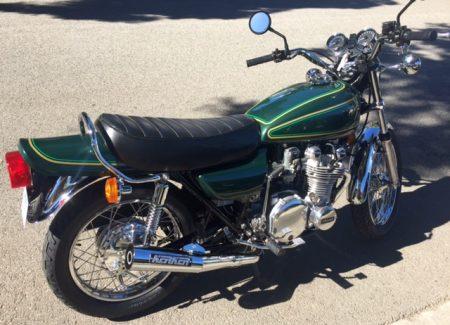 Kawasaki KZ900 Restoration Frank B