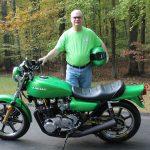 Kawasaki Z1 1975 Green Steve