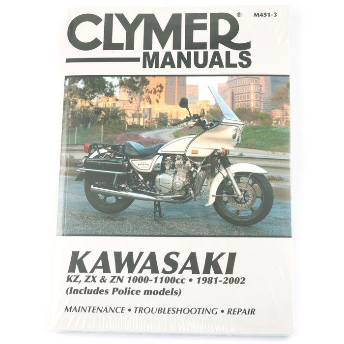 Manual Kz Zx Zn 1000 1100cc 1981 2002