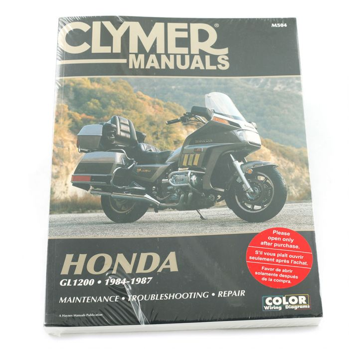 honda gl1200 motorcycle wiring diagrams manual gl1200 1984 1987  manual gl1200 1984 1987