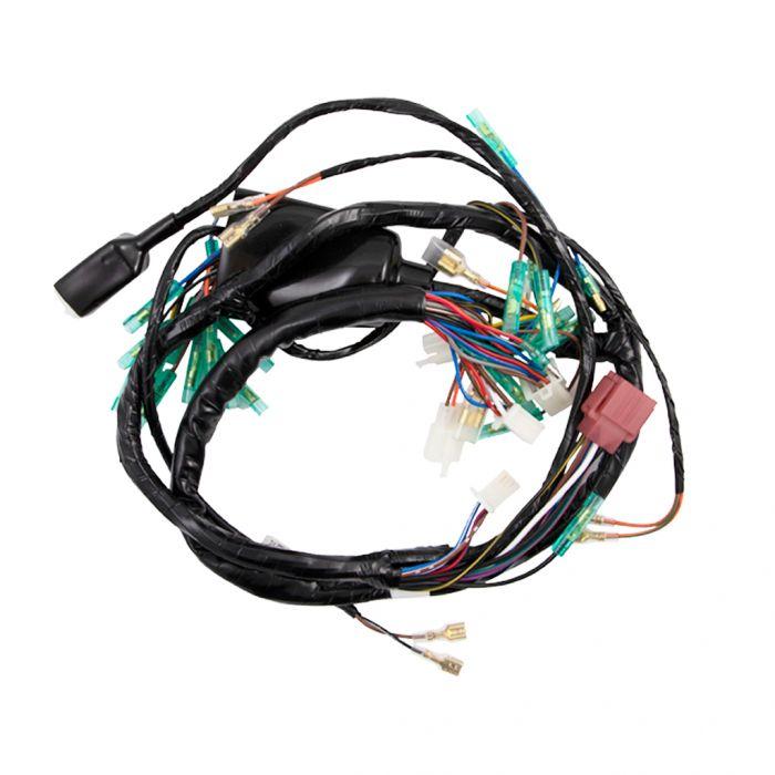 Wiring Harness - Main - KZ1000-A1/A2 on suzuki wiring harness, xs650 wiring harness, cb750k wiring harness, yamaha wiring harness, h2 wiring harness, h1 wiring harness, kz550 wiring harness, kz650 wiring harness, cb750 wiring harness, kz440 wiring harness,