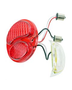 TC Bros LED Conversion Lens for Ford Duolamp Model A Tail Lights
