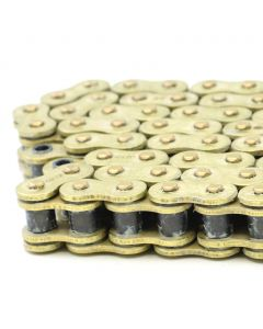 RK Max Series O-Ring Chain Gold 530 Pitch 120 Links