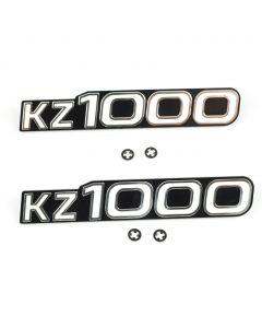Side Cover Emblem - KZ1000A1/A2A 1977-1978 - Pkg 2