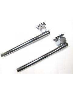 Clip-On Handlebar Set - 34mm - Chrome