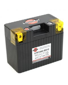 "Shorai LFX14A2-BS12 Extreme Rate Lithium-Iron Powersports Battery - 12v Eq 14Ah ""A"" Polarity 210 CCA"