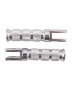 Universal GP Style Aluminum Footpegs - (Suzuki Style Knuckle)