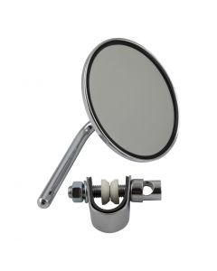 "OEM Style 4"" Chrome Round Mirror"