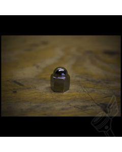M10 x 1.25 Chrome Suspension/Engine Top End Acorn Cap Nuts