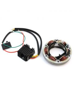 Ricks Motorsport Electrics High Output Charging System Kit - (Fits: Honda CB350, CL350, CB360, & CL360)