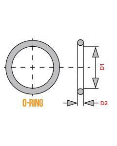 O-Ring - 90.0mm x 3.0mm - Oil Filter Cover - KZ650 KZ1000