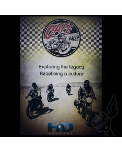 "Official ""Cafe Racer"" Wall Poster"