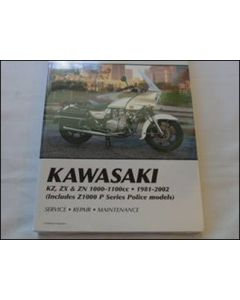 Manual KZ ZX & ZN 1000-1100cc 1981-2002