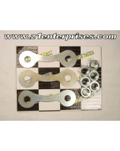 Rr Sprocket Lock Washers & Nuts Z1 KZ900A H2