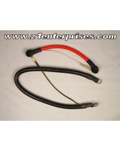 Battery Cables (Positive & Negative) Z1