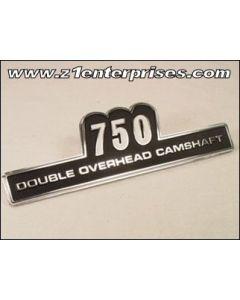 Side Cover Emblem KZ750 Z2 (74-75)