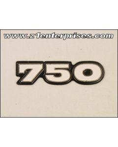 Side Cover Emblem H2/A 750 (73)
