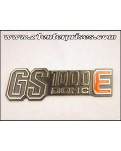 Side Cover Emblem GS1000 (1978-79)