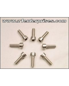 Carb Holder Allen Bolts set of 8 - 6mm x 20mm