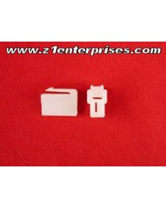 Terminal Connector Set B-37R 2 Pin White (1)