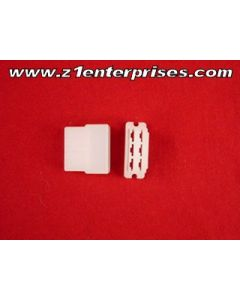 Terminal Connector Set B-13 6 Pin White (1)