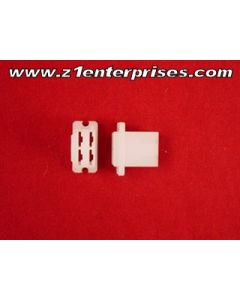 Terminal Connector Set B-18 4 Pin White (1)