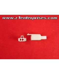 Terminal Connector Set T 2 Pin Off White (1)