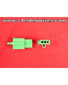 Terminal Connector Set T 3 Pin Green (1)