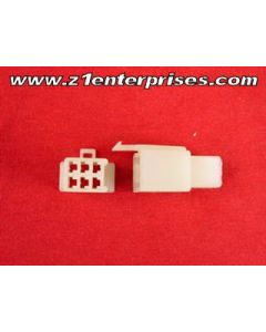 Terminal Connector Set T 6 Pin Off White (1)