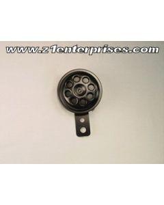 Compact Horn Black 12V