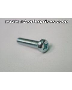 Pan Head Bolt JIS Zinc Blue 6x35