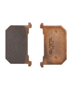 EBC Full Sintered HH Front Brake Pads - (Fits: Kawasaki KZ305, KZ440, KZ550, KZ650, KZ700, KZ750, KZ1000, & KZ1100 | Honda CB750C 1982)