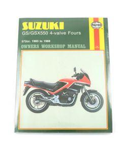 Manual GS/GSX550 4-valve Fours (83 88)