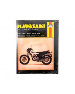 Manual - Kawasaki - 250 - 350 - 400 - Triples - 1972-1979