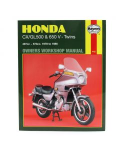 Manual - CX500 & GL500 GL650 - V-Twins - 1978-1986