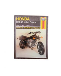 Manual CB650 sohc Fours (78 84)