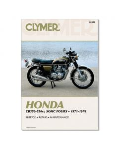 Manual CB350-550 SOHC Fours 1971-1978