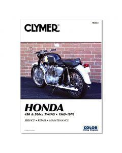 Honda CB450, CL450, & CB500T Repair Manual (1965-1976)